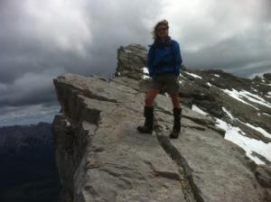 Mount Rundle summit.