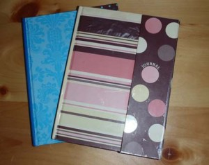 Alisen's two personal journals.