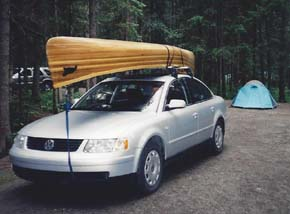 Getting ready for a canoe trip to remote Murtle Lake.
