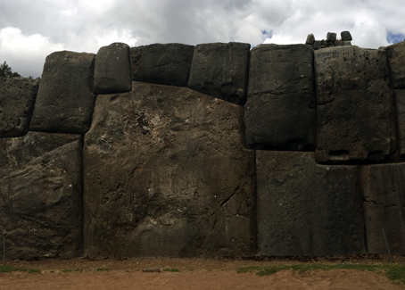 The impossibly massive and perfectly fit stonework on an ancient Peruvian wall. This inspires me to look for the bigger plan.
